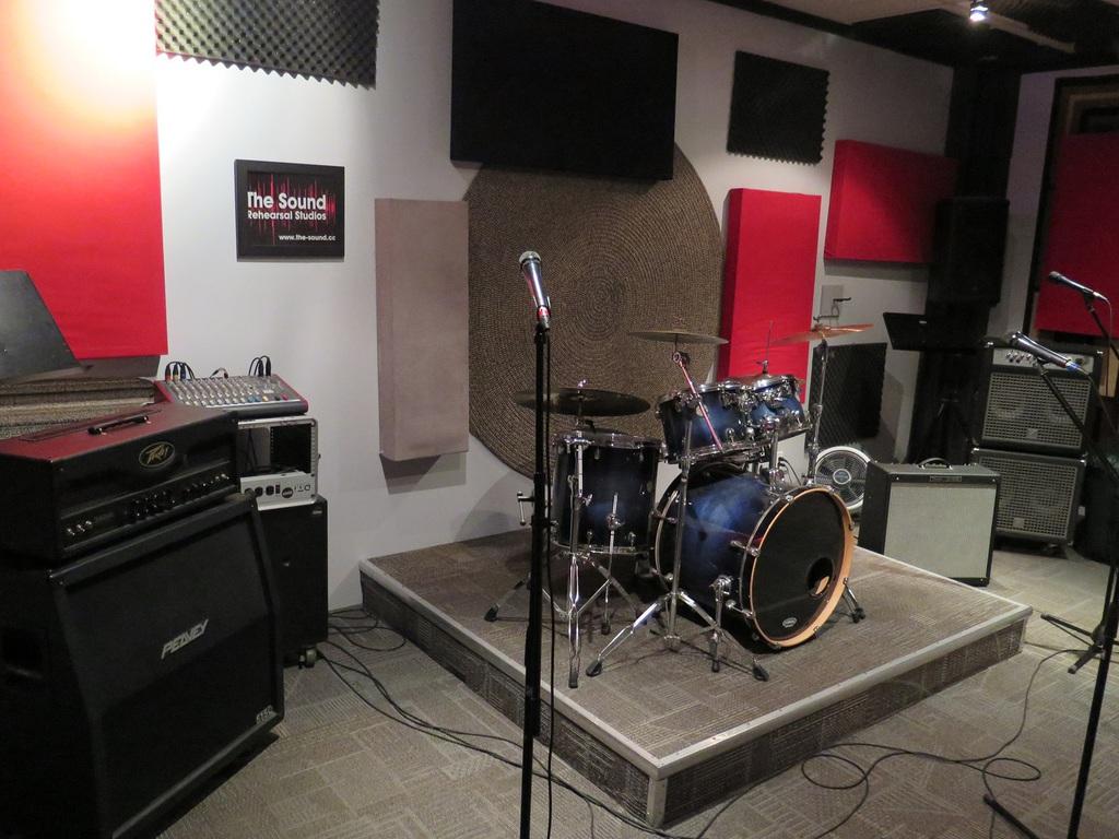 The Sound Rehearsal Studios, Vaughan, York Region, Ontario